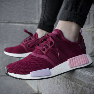 adidas Shoes - Adidas NMD R1 Sneakers B37646 Burgundy